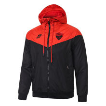 2020 Roma Orange And Black Windbreaker