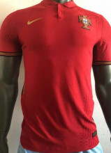2020 Euro Portugal Home Player Soccer Jersey