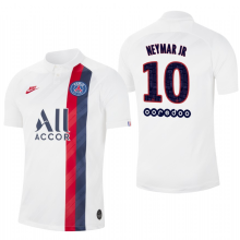 NEYMAR JR 10# PSG Paris Away 1:1 Fans Soccer Jersey 19/20