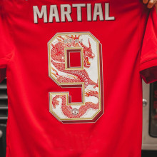 Chinese Dragon Font Man Utd 1:1 Quality Fans Soccer Jersey