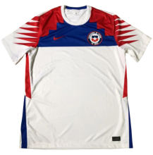 2020 Chile White 1:1 Quality Fans Soccer Jersey