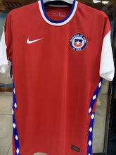 2020/21 Chile 1:1 Quality Home Red Fans Soccer Jersey