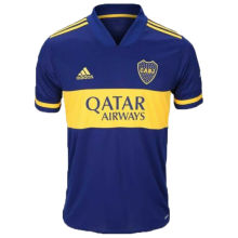 2020 Boca 1:1 Quality Home Blue Fans Soccer Jerseys