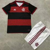 2020/21 Flamengo Home Kids Soccer Jersey