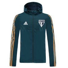 2020 Sao Paulo Green Windbreaker