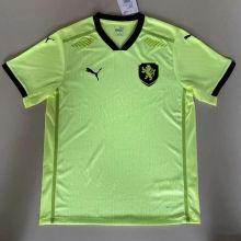 2020 Euro Czech Away Player Soccer Jersey