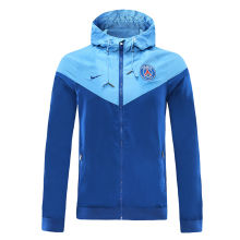 2020 PSG Paris Blue Windbreaker