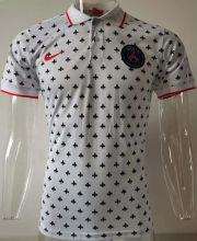 2020/21 PSG  White Polo Short Jersey