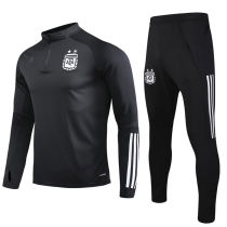 2020 Argentina Black Sweater Tracksuit