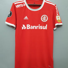 2020/21 Internacional Home 1:1 Quality Soccer Jersey (All AD And Patch) 全广告和解放者2字杯