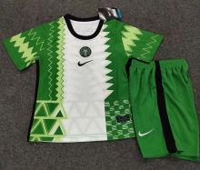 2020 Nigeria Home Kids Soccer Jersey