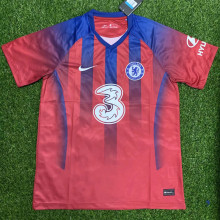 2020 Chelsea Red Training Short Jersey