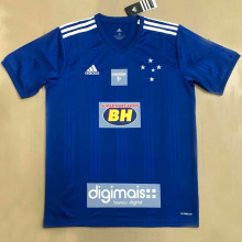 2020 Cruzeiro Home 1:1 Quality Blue Fans Soccer Jersey(All AD)