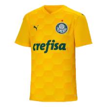 2020/21 Palmeiras GK 1:1 Quality Yellow Fans Soccer Jersey