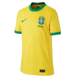 2020/21 Brazil Home 1:1 Quality Yellow Fans Soccer Jersey