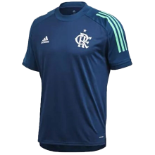 2020 Flamengo Blue Round Collar Jersey