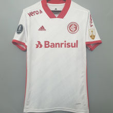 2020/21 Internacional Away 1:1 Quality Soccer Jersey (All AD And Patch) 全广告和解放者2字杯