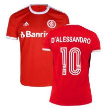 D'ALESSANDRO#10 International Home Fans Soccer Jerseys 2020/21