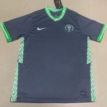 2020 Nigeria Away Black Fans Soccer Jersey