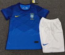 2020/21 Brazil Away Kids Soccer Jersey