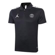 2020/21 PSG Paris Jordan Black Polo Short Jersey