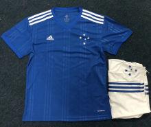 2020/21 Cruzeiro Home Blue Kids Soccer Jersey