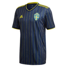 2020 Euro Sweden 1:1 Quality Away Fans Soccer Jersey
