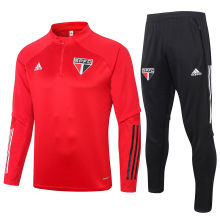 2020/21 Sao Paulo Red Sweater Tracksuit