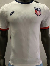 2020 USA Home Player Version Soccer Jersey
