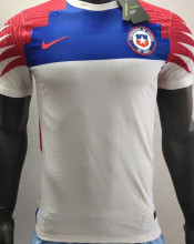 2020 Chile White Player Version Soccer Jersey