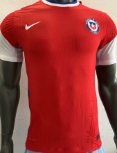 2020 Chile Red Player Version Soccer Jersey