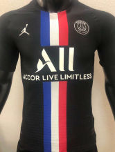 2020 PSG Paris Jordan Player Version Soccer Jersey