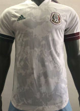 2020 Mexico White Player Soccer Jersey
