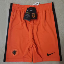 2020 Euro Netherlands Home  Shorts Pants