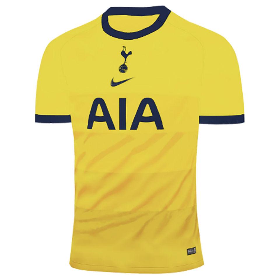 2020 21 Tottenham 1 1 Quality Away Yellow Fans Soccer Jerseys