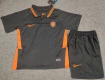2020 Euro Netherlands Away Kids Soccer Jersey