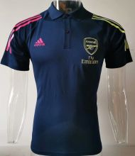 2020 Arsenal Black Polo Short Jersey