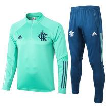 2020/21 Flamengo Green Sweater Tracksuit