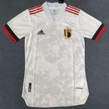 2020 Euro Belgium Away Player Version Soccer Jersey