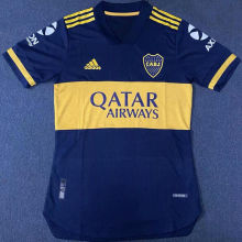 2020 Boca Home Blue Player Soccer Jerseys