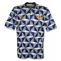 1990-93 North Ireland Away Retro Soccer Jersey