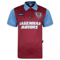 1995 West Ham 100th Retro Soccer Jersey