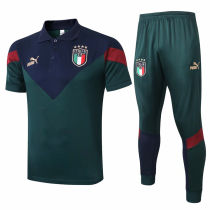2020 Europe Italy Green POLO Tracksuit