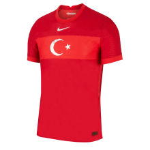 2021 Turkey 1:1 Quality Home Red Fans Soccer Jersey