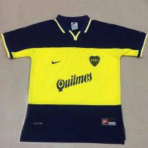 1990 Boca Home Retro Soccer Jersey