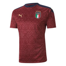 2020 Euro Italy Red GK Soccer Jersey
