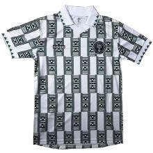 1994 Nigeria White Retro Soccer Jersey