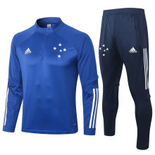 2020/21 Cruzeiro Blue Sweater Tracksuit
