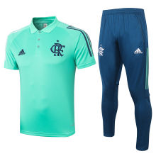 2020/21 Flamengo Green Polo Tracksuit