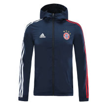 2020/21 Bayern Munich Royal Blue windbreaker